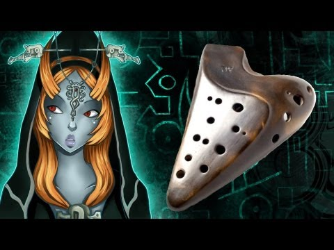 Midna's Desperate Hour On Ocarina (midna's Lament Cover) video