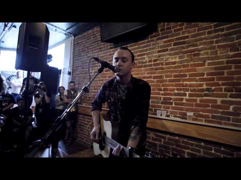 Chris Cresswell (acoustic) of The Flatliners [FULL SET] LIVE @ THE FEST 12 2013-11-2