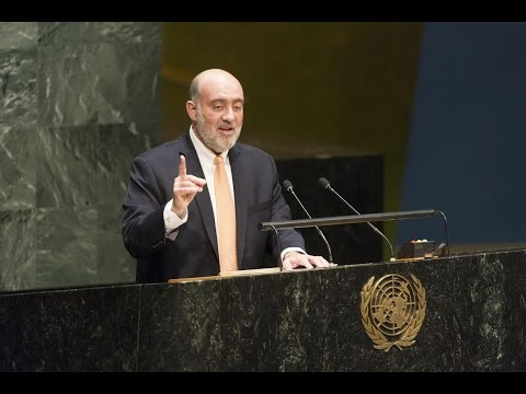 Amb. Prosor addresses UNGA debate on the Question of Palestine