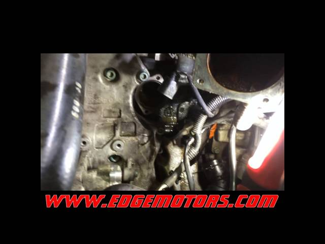 2002-2005 Audi A4 1.8T coolant thermostat replacement DIY ...
