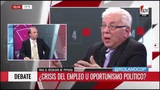 Jorge Altamira en Tercera Posición sobre Pepsico, 13/07/17