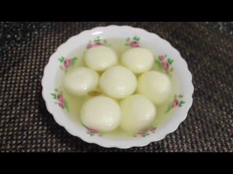 How To Make RoshoGolla(রসগোল্লা )
