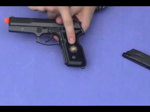 HFC HG-160 Airsoft Gas Pistol Review