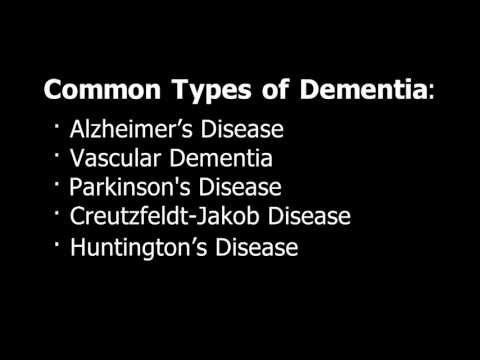 Common Types of Dementia