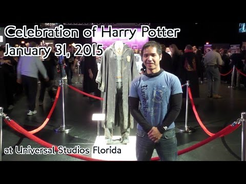 A Celebration of Harry Potter (2015) - Alex meets Dumbledore