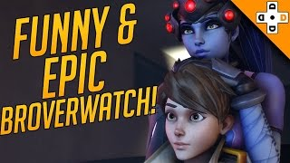 Overwatch Funny & Epic Moments 117 - BROVERWATCH - Highlights Montage