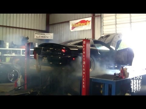 Camaro Tires EXPLODE on the Dyno!!!! @ 200mph!!!