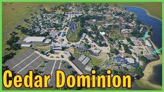 Cedar Dominion: Realistic Cedar Fair style Park | Park Spotlight 129 #PlanetCoaster