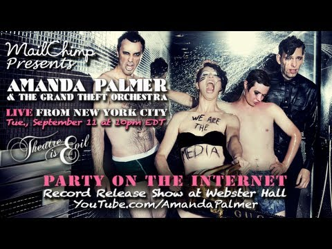 MailChimp Presents: Amanda Palmer &amp; The Grand Theft Orchestra Live from NYC