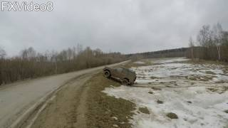 Land Rover Discovery I - Off Road - весной на дачу - part2