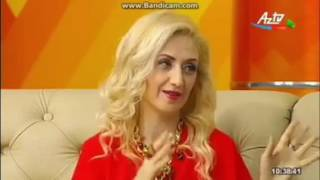 "Fashion-dedigner, Phd Gulnara Khalilova 2.06.2016 Az Tv ""Seher"""