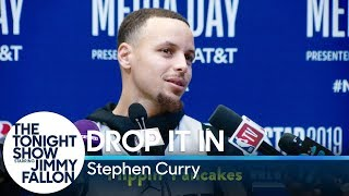 Jimmy Had Steph Curry Secretly Slip Funny Words into His NBA All-Star Interviews