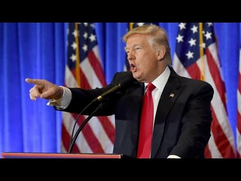Inside Donald Trump's First News Conference as President-Elect