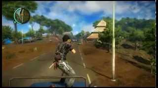 Just Cause 2 :C4 and Truck = Fun