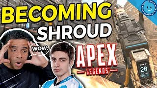 When an average player tries to play like Shroud In Apex Legends...