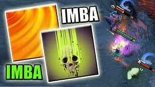 0 Cooldown Stun - Permanent Imba [Aftershock + Life Drain + Octarine Core] Dota 2 Ability Draft
