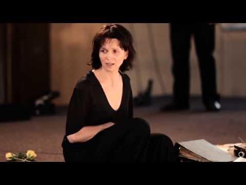 Interview with Juliette Binoche about Antigone | Festival 2015