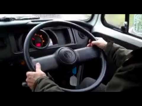 Danbury Motorcaravans - VW T2 Power steering first!