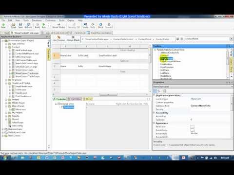 Uploading and Downloading Files - Iron Speed Designer V7.1
