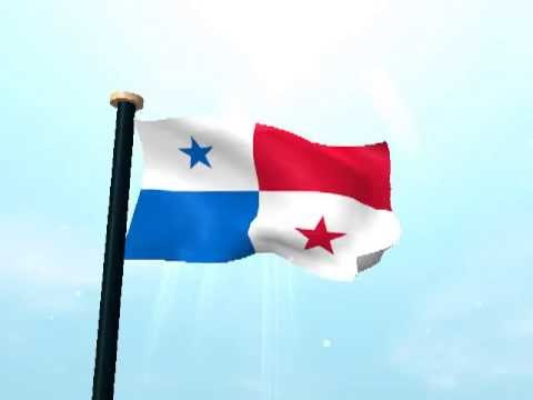 Panam bandera 3d fondos animados youtube for Fondos animados 3d