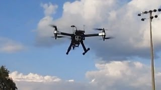Y6 Hexacopter Test Flight