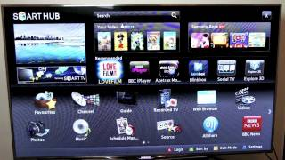 SAMSUNG 55 D8000 3D SMART LED TV REVIEW