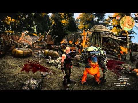 The Witcher 3 Не жди меня мама,хорошего Тролля..