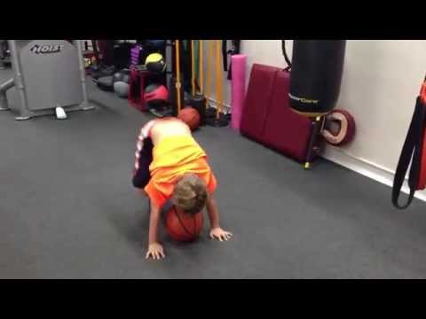 KID TRAINING AT ELITE TEAM FITNESS / HALLANDALE FLORIDA