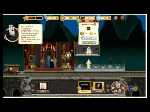 Hotel Transylvania Video Demo  Facebook Game