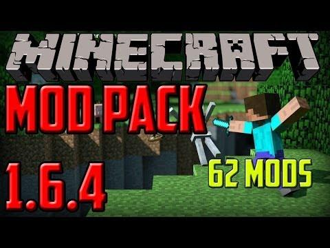 Minecraft PC | Mod Pack 1.6.4 | 62 Mods | Instalacion | HD |