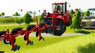 I Destroyed Farming With a 52,000,000 HP Tractor - Farming Simulator 19