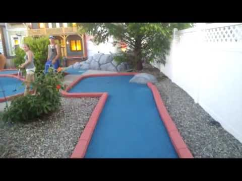 Google Glass video: I Hit a Hole in One - Mini Golf, Wildwood, NJ