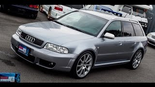Walk Around/Test Drive - 2001 Audi RS4 - Japanese JDM Car Auctions