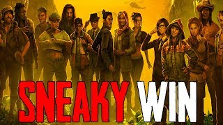 Sneaky Win! - NEW Survival Battle Royale Game - SOS Gameplay