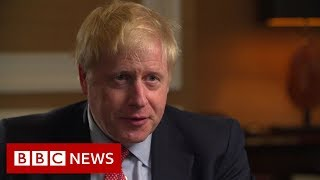 Race to become UK PM Boris Johnson exclusive interview - BBC News
