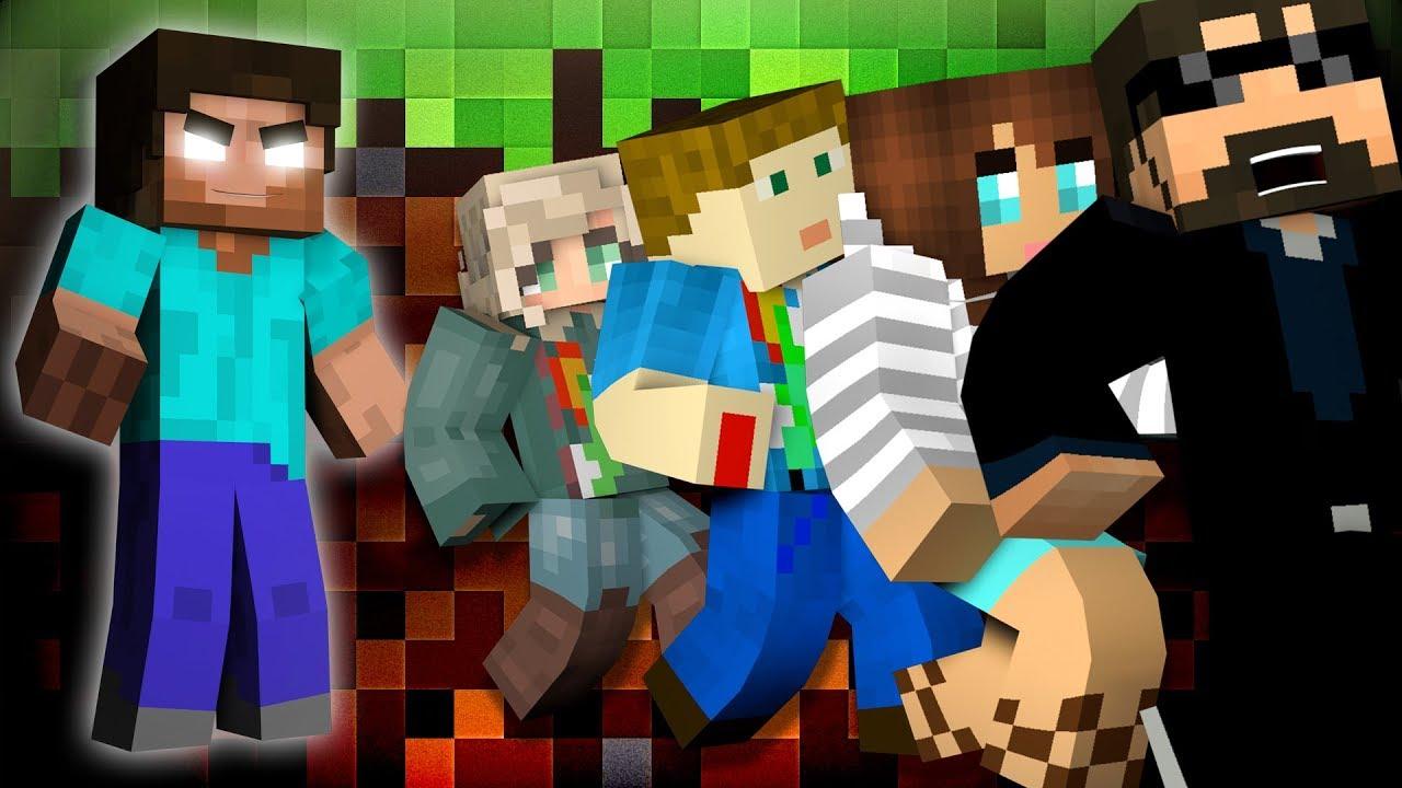 Minecraft: HEROBRINE MURDER | MODDED MINI-GAME