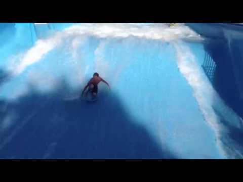 Wave Waterpark Flow Rider 2013 video