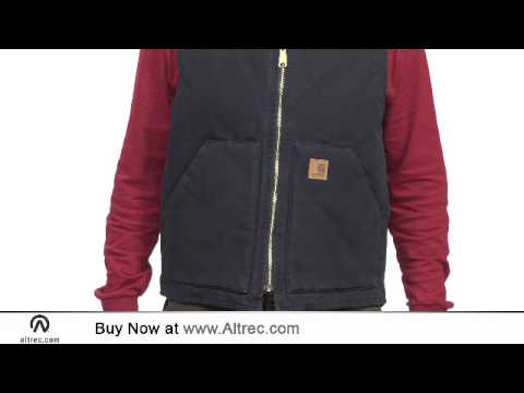 Video: Men's Sandstone Vest - Arctic Quilted Lined