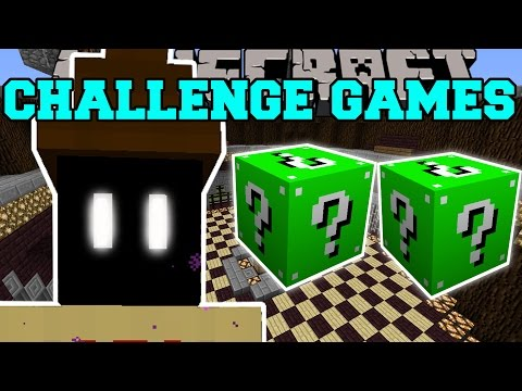 Minecraft: ZELDA CHALLENGE GAMES - Lucky Block Mod - Modded Mini-Game