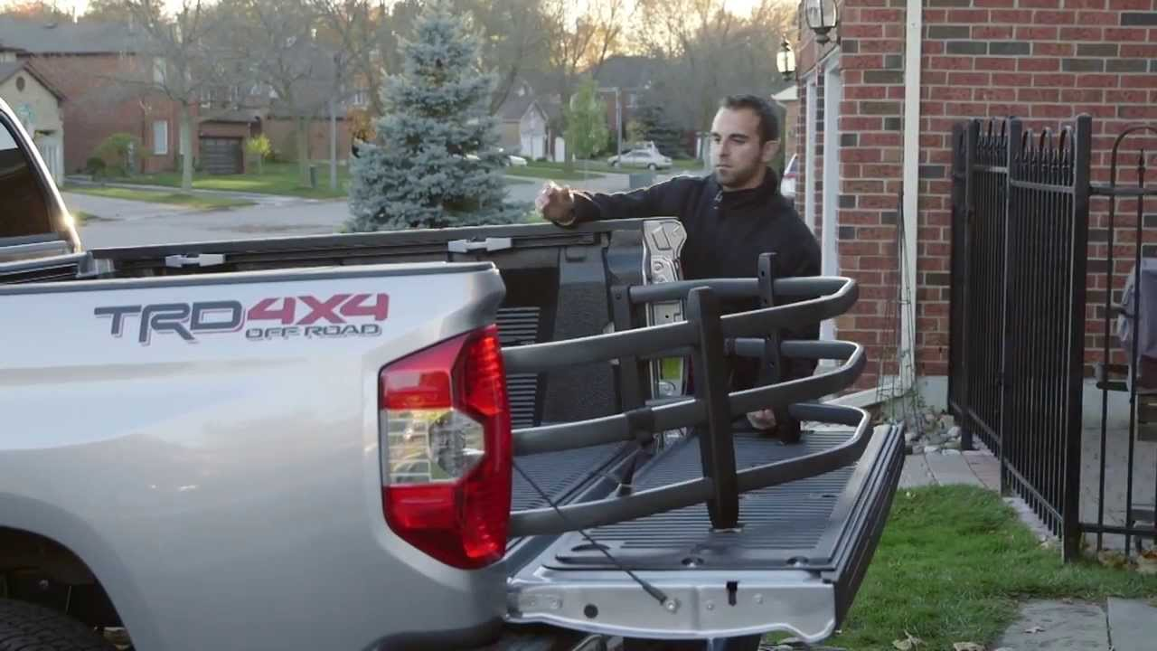 Toyota Truck Accessories - Bed Extender - YouTube