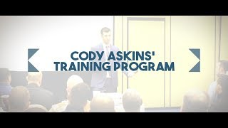 Cody's Training Program - Learn How To Become A Top Producer!