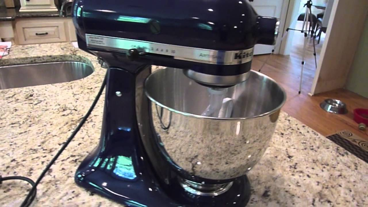 Kitchen Aid Artisan Stand Mixer Unboxing Amp Review Youtube