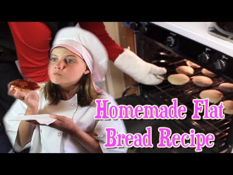 Homemade Flat Bread Recipe using Sprouted Wheat Flour (Matzah/Pita/Pocket)
