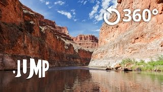 Grand Canyon Jump VR Video
