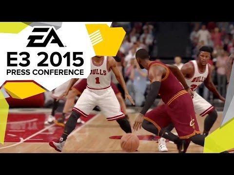 NBA Live 16 Gameplay Trailer - E3 2015 EA Press Conference