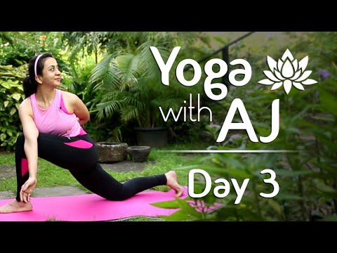 Yoga for Spine Problems | Day 3 | Yoga For Beginners - Yoga With AJ