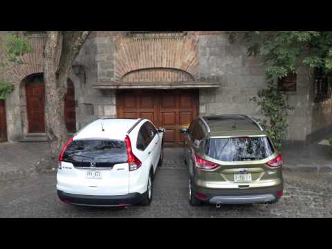 Autopistas de El Universal • Ford Escape vs Honda CR-V