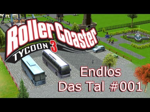 Rollercoaster Tycoon 3 Endlos - #001 - Falschparker - Let's Play [Deutsch / Full HD]