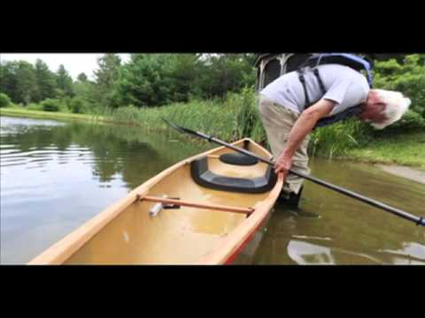 how to get into a paddle boat
