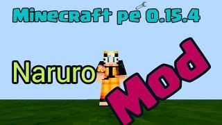 MOD minecraft pe 0.15.4 Naruto